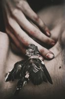 The little death sleeping in my arms by NataliaDrepina