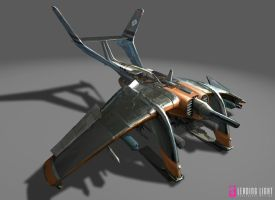 Remote Fighter Bomber by PeteAmachree