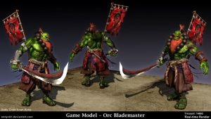 Orc Blademaster by AndyCKH