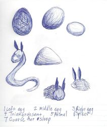 Ballpoint Pen Drawings by Paws-for-a-Moment