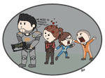 [Fo4] The A Team by wildwolf007