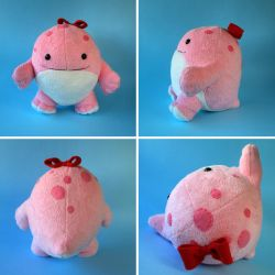 Pink Quaggan from Guild Wars 2 by FizziMizzi