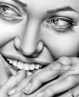 Giggly AJ - detail by IleanaHunter