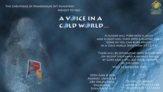 Flyer for my Friend's Church, Youth Event by TheRealJenius