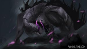Gore Magala, The Emoraptor by WAmirul