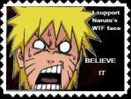 Naruto Stamp by FrozenSkies