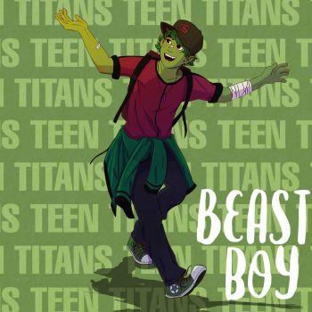 Beast Boy - Young Titans by Markistic