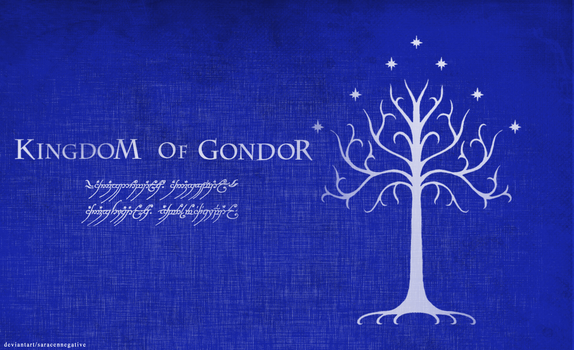 Kingdom Of Gondor-Special Edition by saracennegative