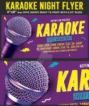 Karaoke Party Flyer Template by Hotpindesigns