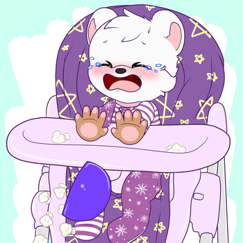 Highchair YCH: Snowthebear by tailslover42