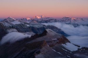 Awakening Mountains by RobertoBertero