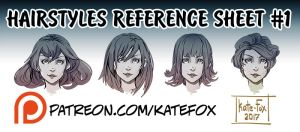 Hairstyle set 1 by Kate-FoX