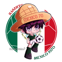 [World Cup Mascots] - Juanito by KawaiiRebichan