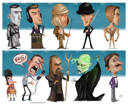 The Evolution of Ralph Fiennes by JeffVictor