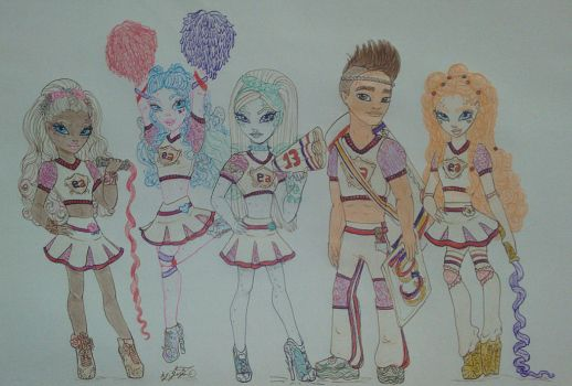 Ever After High Cheerhexers by GuiZSTAR