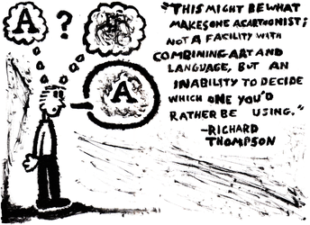 What Makes One A Cartoonist by Arkholt