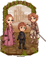 Game of Thrones the Lannisters by Heartsdesire-fantasy