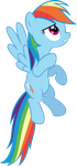 Rainbow Dash S2E7 by Scootaion