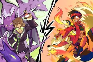 Poison V Fire by BatArchaic