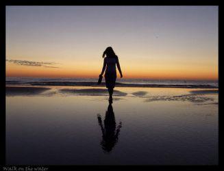 Walk on the water by orquidee