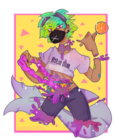 Goretober Day 6 Candy gore by Mindless-kitten