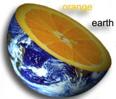 orange earth by sauceback