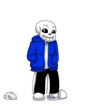 Sans Character Design by Spurlia