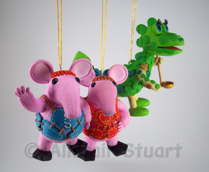 Christmas Clangers +Commission+ by Alistu