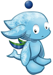 Normal Swim-type Chao - Rascal by Zphal
