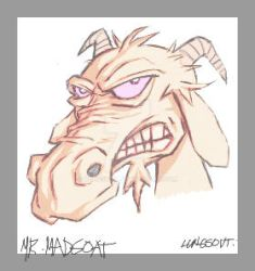 MR. MADGOAT by lungsout