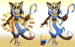 Adoption Auction CLOSED- Bastet priestess by Yochanan-dreamer