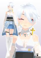[MMD OC] Lightmary by cats-wing