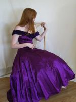 Seated in Purple 2 by chamberstock