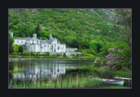 Kylemore Abbey, Ireland by silhawk24
