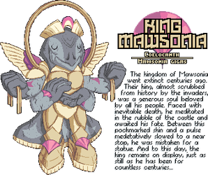 King Mawsonia by SugarySweetSprites