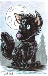 Commission - Newman Werewolf by Josh-Ulrich