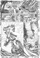 Thor vs Hulk- Page 8 by Frazer9497