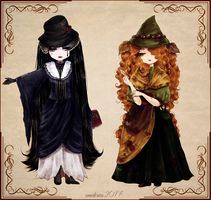 witches by Endiria