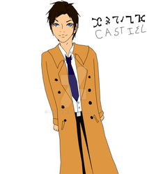 Castiel angel of the lord Colored by UnlovedK