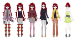 Ignis (hxh oc) all outfits by MauiCatgirl