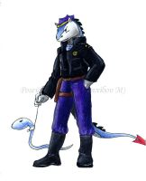 A-G Police officer by poseidonsimons