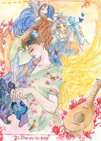 The bird and the bard by Linyaen