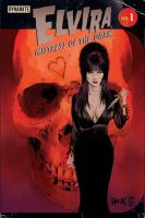 Elvira: Mistress of the Dark #1 variant cover  by RobertHack