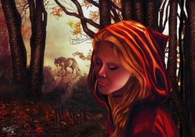 After the Red Riding Hood by kriskeleris
