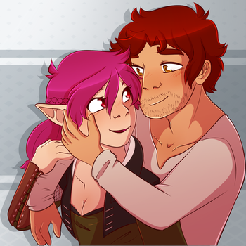 Young lovers by CrispyCh0colate