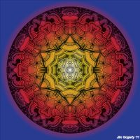 Mandala drawing 11 colour v3 by Mandala-Jim