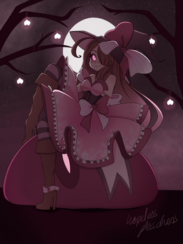 Noire || Halloween Witch by hopeless-peaches