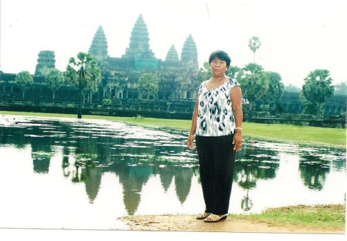 MY MOM in Cambodia by booger626