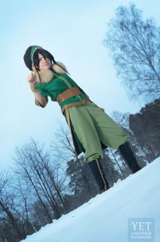 Toph Beifong - avatar The Last Airbender by TophWei