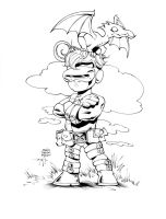 Baby Cyclops by olivernome